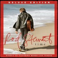 ROD STEWART - TIME (DELUXE TOUR EDITION ) 2 CD NEW!