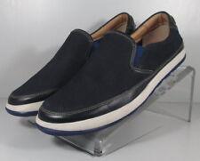 271059 FT38 Men's Shoes Size 10.5 M Blue Leather Slip On Johnston Murphy
