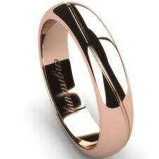 Anniversary Rose Gold Precious Metal Rings without Stones