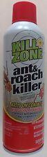 ANT & ROACH KILLER Contact & Residual Kill FLEAS SPIDERS, 3 oz Aerosol Spray Can