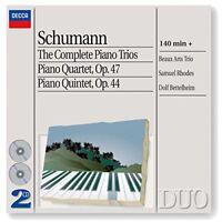 obert Schumann - The Complete Piano Trios/Piano Quartet/Piano Quintet [CD]