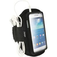 Black Sports Armband for Samsung Galaxy S4 Mini GT-i9195 i9190 Gym Running Case