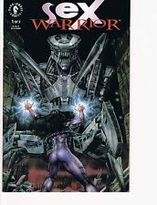 Sex Warrior  # 1 and 2 complete mini series  NM 9.4