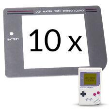 10 x  GameBoy Classic Display Scheibe Ersatz / Austausch Game Boy screen LCD
