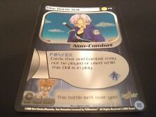 Dragon Ball Z CCG Blue Battle Drill P4 Foil!! Trunks Reforge Saga!!
