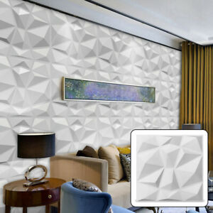 PVC 3D Wall panel Decorative Wall Ceiling Tiles Cladding Wallpaper Waterproof