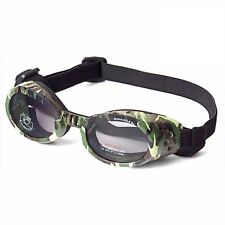 Doggles ILS Camo/Smoke Large | Goggles/Sunglasses | Eye Protection for Dogs