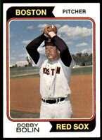 1974 Topps Bobby Bolin Boston Red Sox #427
