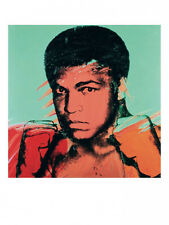Muhammad Ali, 1977 by Andy Warhol Pop Art Print - Offset Lithograph Muhammed OOP