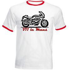 MOTO GUZZI V11 LE MANS Ispirato-Nuovo T-shirt Cotone-Tutte le taglie in magazzino