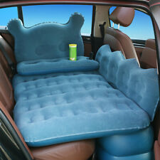 Car Air Bed Inflatable Mattress Travel Sleeping Camping Cushion Back Seat Pads.