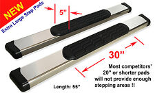 "99-16 F-250/350/450/550 Super Duty Regular Cab 5"" Safari Running Boards Aluminum"
