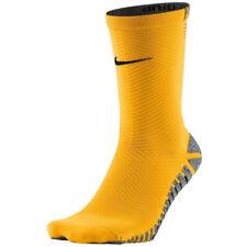 NIKE GRIP STRIKE LIGHT CREW ORANGE FOOTBALL DRI FIT SOCKS EUR36-38 UK3-4.5