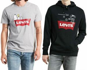 Levi's x Peanuts Snoopy T-Shirt Hoodie Sweatshirt - Men's 2XL 3XL - New w/Tags!