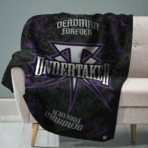 "WWE The Undertaker 60"" x 80"" Raschel Plush Throw"