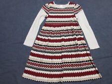 Girls Dress w/ ZIG ZAG/Striped Pattern by GYMBOREE - Sz 10 - PENGUIN CHALET