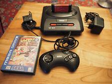 Sega Mega Drive II Spielekonsole Schwarz inkl. 7 Spiele --- funktioniert!
