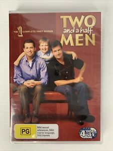 Two And A Half Men - Complete Season 1 (4 DVD set) - Region 4 - NEW & SEALED