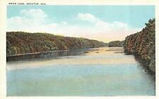 DECATUR, AL  Alabama     SWAN LAKE    Boats in Distance    c1920's Postcard