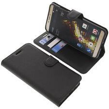 Funda para BLU Vivo 5 Book Style PROTECTORA telefóno móvil estilo libro NEGRA