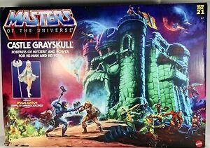 Masters of the Universe Origins Castle Grayskull Mattel Playset In Original Box