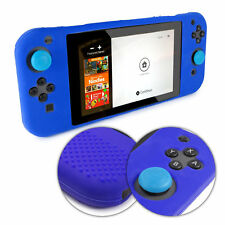 TUFF LUV Nintendo Switch Anti-slip Silicone protective Case (All in one) - Blue