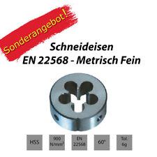 Schneideisen EN 22568 - MF / Metrisch Fein - SONDERANGEBOT
