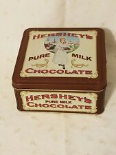 Vintage Hershey's Pure Milk Chocolate Collector Advertising Tin 1992