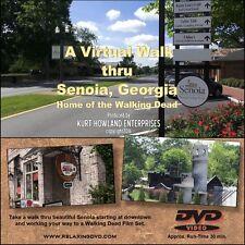 """SENOIA, GEORGIA VIRTUAL WALK"" Home of the Walking Dead, Treadmill Exercise DVD"