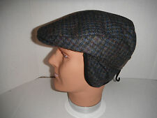 Woolrich cap wool blend tweed Ear flaps Hat earlap Cap New medium