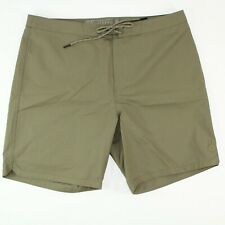 Outerknown Woolaroo Men's Boardshorts / Trunks Size 32 Green Herb
