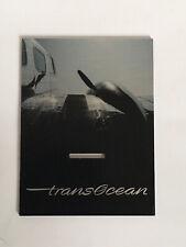 BREITLING WATCH DISPLAY CARD. TRANSOCEAN.
