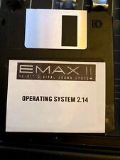 E-mu Emax II Operating System Disk Version 2.14