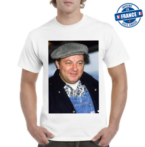 Tee-shirt Coluche Michel Coluchi humour top qualité 2021