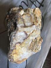 Beautiful gold in quartz specimen
