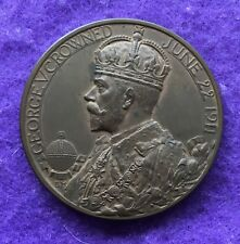 Historical medals medallions-1911 Coronation of George V
