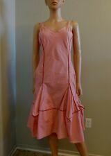 Marithe Francois Girbaud Pink Dress Sundress L XL