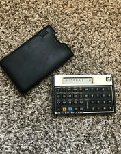 Vintage Hp 12C Financial Calculator With Case Tested Works
