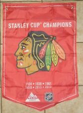 Coors Light Stanley Cup Champions Banner Chicago Blackhawks