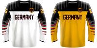 NEW 2019 Germany Deutschland Hockey Jersey DRAISAITL KAHUN RIEDER KUHNHACKL NHL