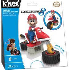 K'Nex Super Mario Mario Kart 8 Mario Bike Building Set #38494