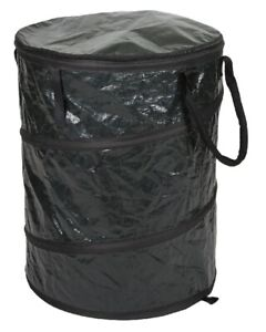 """Stansport 877-50 Collapsible Trash Can Pops-Up Container 19""""x24"""" Durable Camping"""