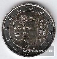 Luxemburg 2009 Stgl./unzirkuliert 2009 2 Euro Henri + Charlotte