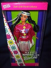 1994 Native American Barbie Dolls Of The World #12699 Special Edition.