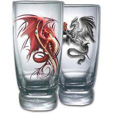 Spiral Direct WYVERN - Water Glasses - Set of 2 Dragon/Fashion/Mystical/Tribal