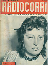 RADIOCORRIERE TV 16-22 OTTOBRE 1955 ANNO XXXII N. 42 ANNA MAGNANI
