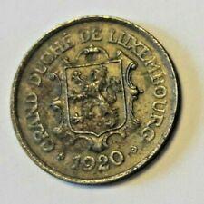 Luxemburg - 25 Centimes - 1920 - letzebuerg