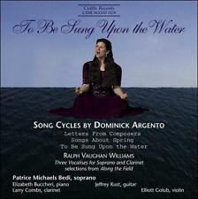 To Be Sung Upon the Water: Songs (Michaels) CD NEW