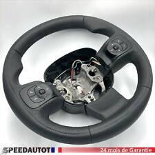 Mise au Point Aplati Noir Volant en Cuir Multifonctionnel Fiat 500 L