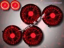 CHEVROLET CORVETTE 05-12 / CORVETTE 06-12 Z06 L.E.D. TAIL LIGHTS EURO RED 4PCS